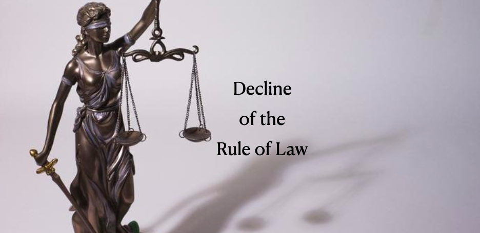 The Decline Of The Rule Of Law Experiencing The Unimaginable In Western Society The Impact Of Economic And Social Inequality In The 21st Century Sigurdson Post